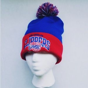 MITCHELL & NESS L.A. CLIPPERS BEANIE